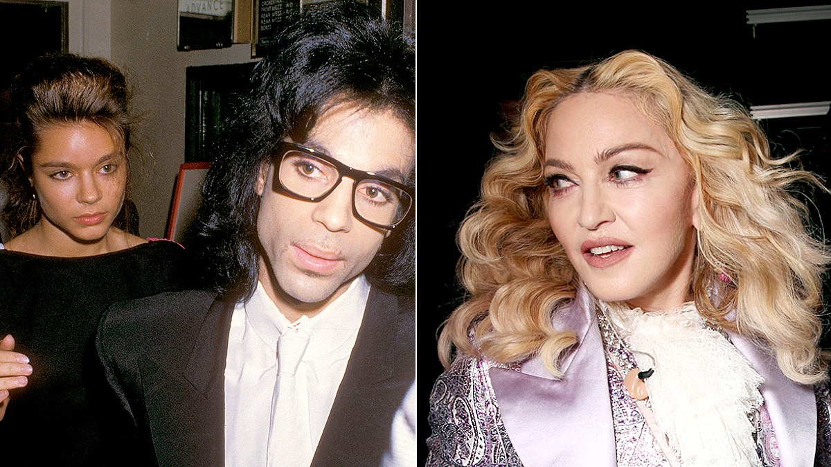 """Prince and Anna Fantastic at a performance of """"Madame Butterfly"""" on September 21, 1988 at the Eugene O'Neil Theater in New York City, New York."""