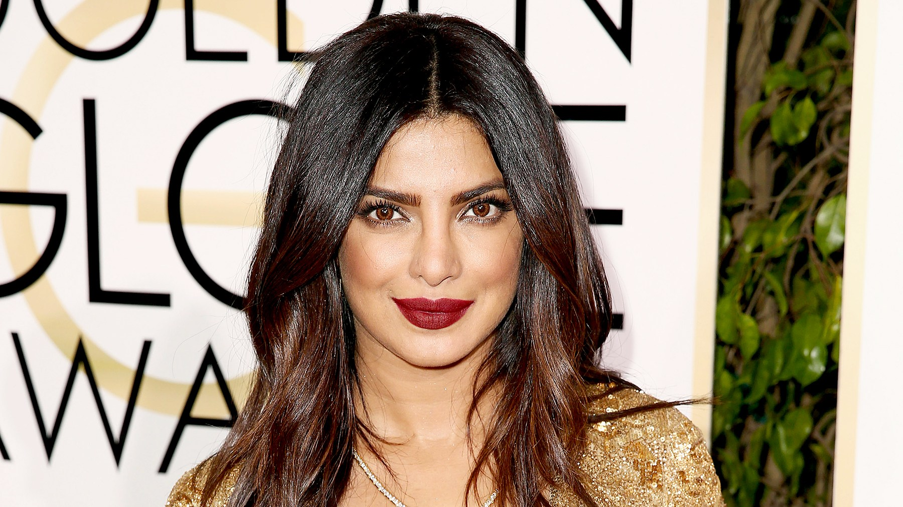 Priyanka Chopra attends the 74th Annual Golden Globe Awards at The Beverly Hilton Hotel on January 8, 2017 in Beverly Hills, California.