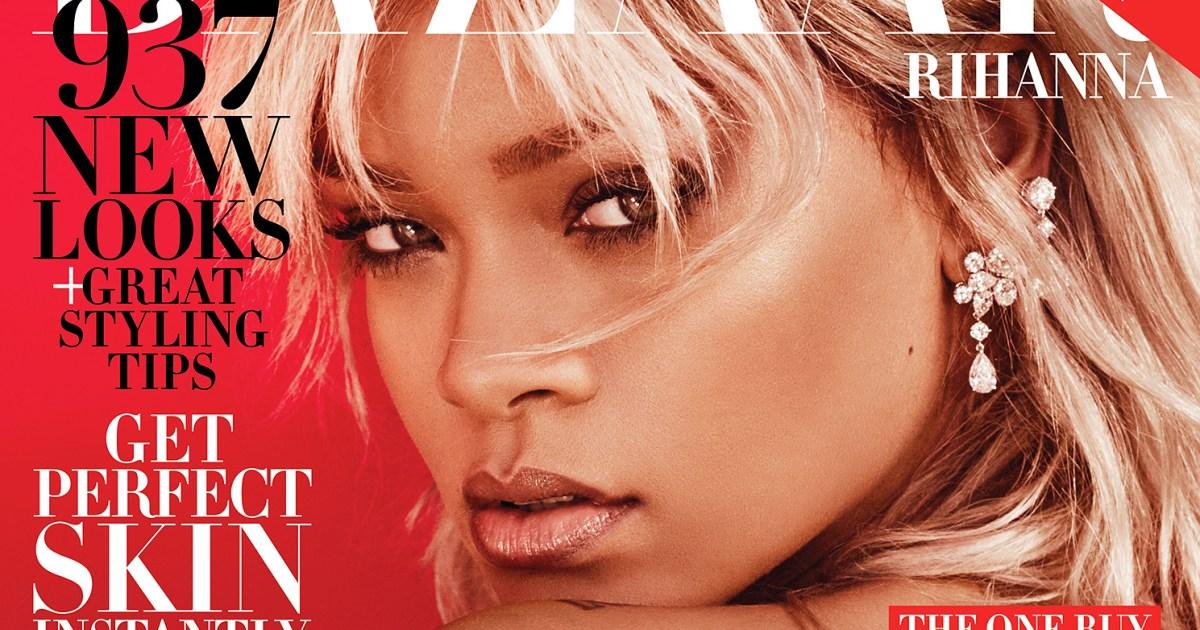 Rihanna Channels Amelia Earhart For Harpers Bazaar-7683