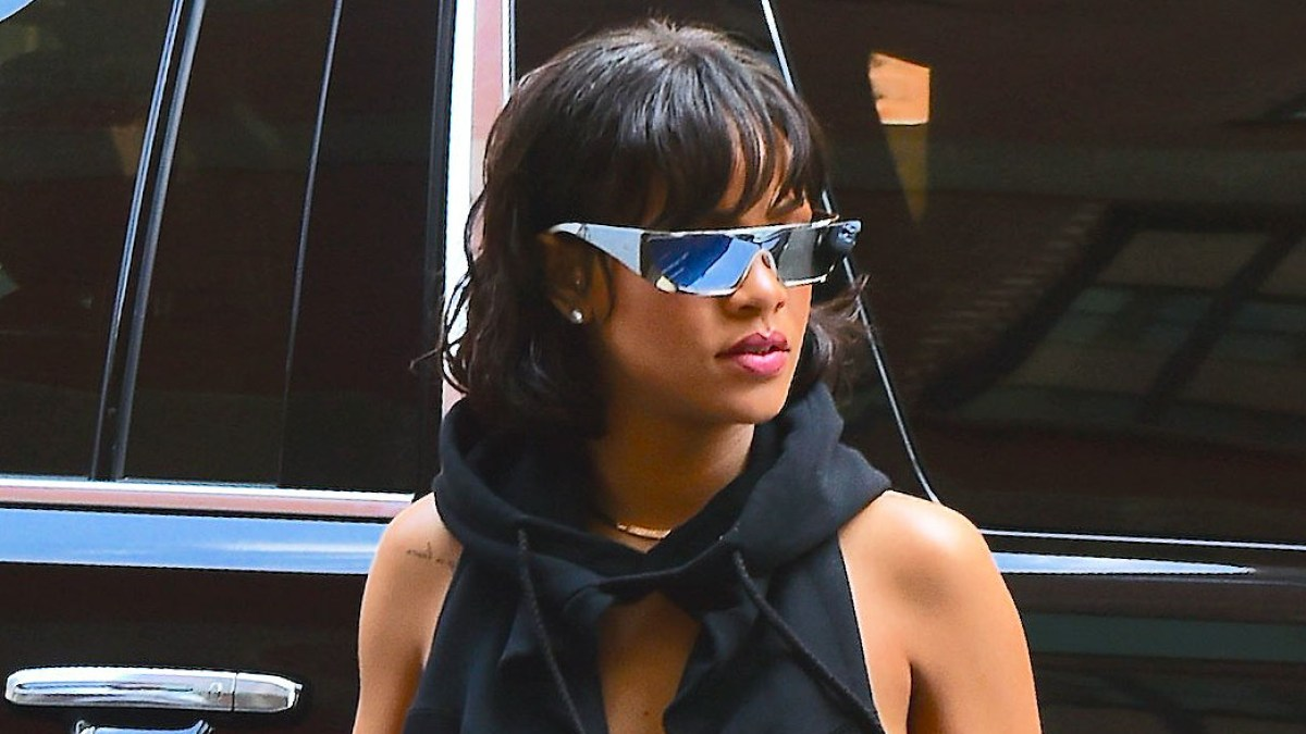 c1e8bdccee Rihanna Launches Futuristic Sunglasses With Dior  First Pics