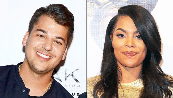 Rob Kardashian and Mehgan James