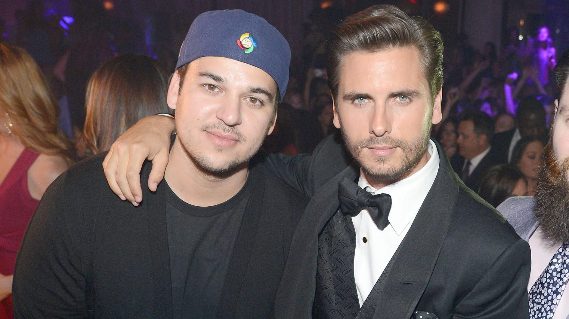 Rob Kardashian, Scott Disick