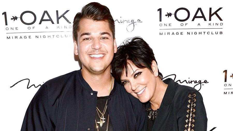 Rob Kardashian celebrates his 29th birthday and St. Patrick's Day with Blac Chyna on March 17, 2016.