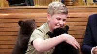 Robert Irwin Jimmy Fallon black bears