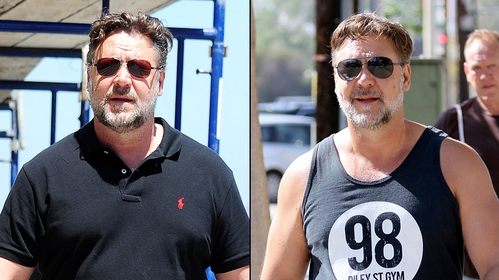 a36eeaa0 Russell Crowe Lost 52 Pounds: See His Dramatically Slimmer Look