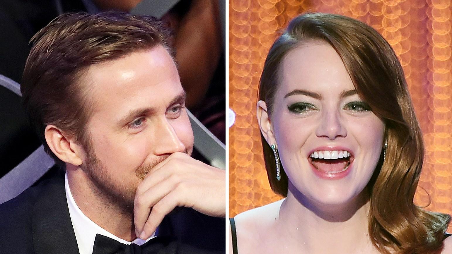 Ryan Gosling Emma Stone SAG Awards