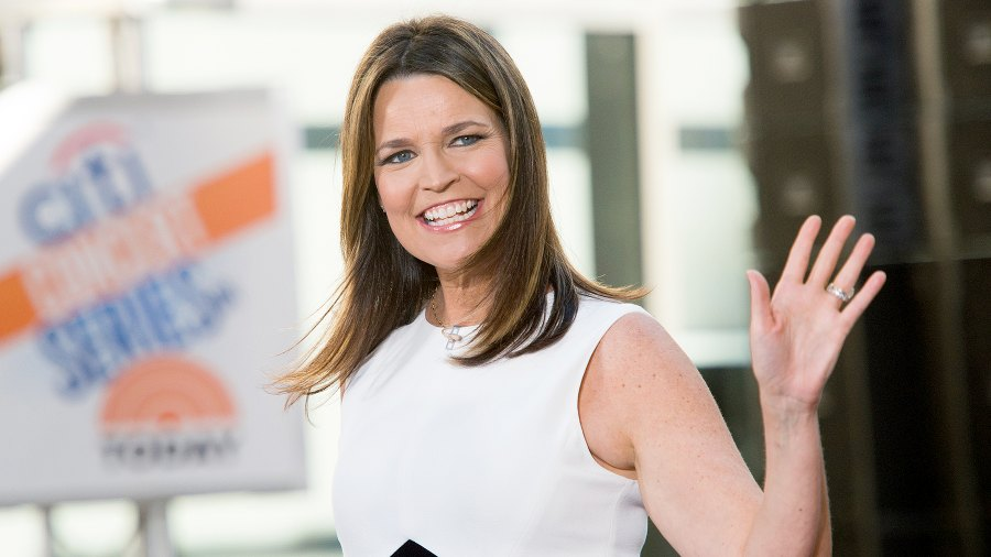 Savannah Guthrie attends NBC's 'Today' at Rockefeller Plaza on July 15, 2016, in New York City.