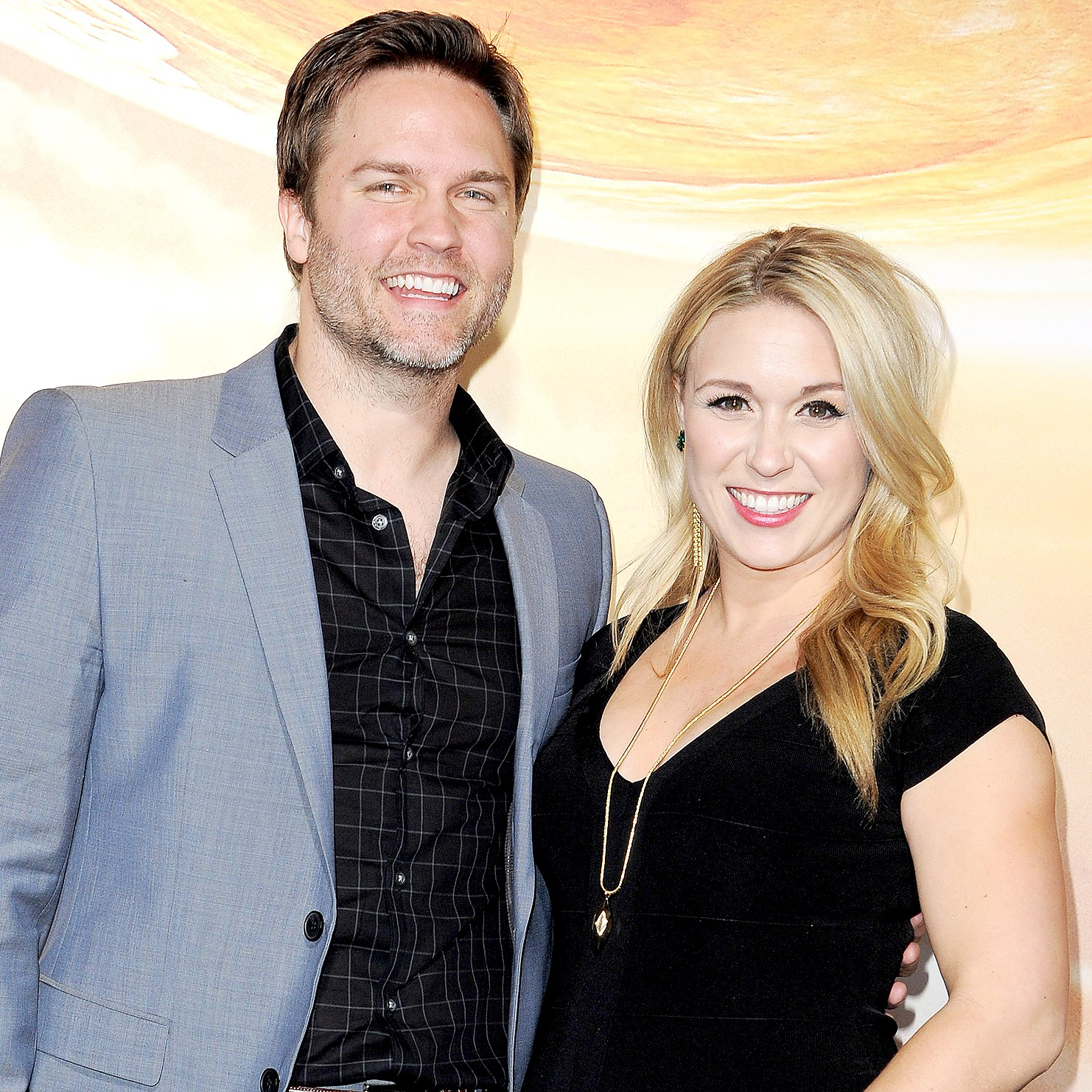 Scott Porter and Kelsey Mayfield arrive at the Los Angeles premiere of 'Jupiter Ascending' at TCL Chinese Theatre on February 2, 2015 in Hollywood, California.