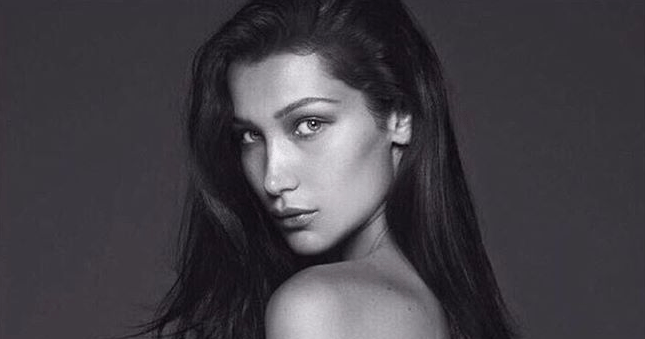Bella Hadid Goes Topless (and Bottomless!) for 'Vogue Paris'
