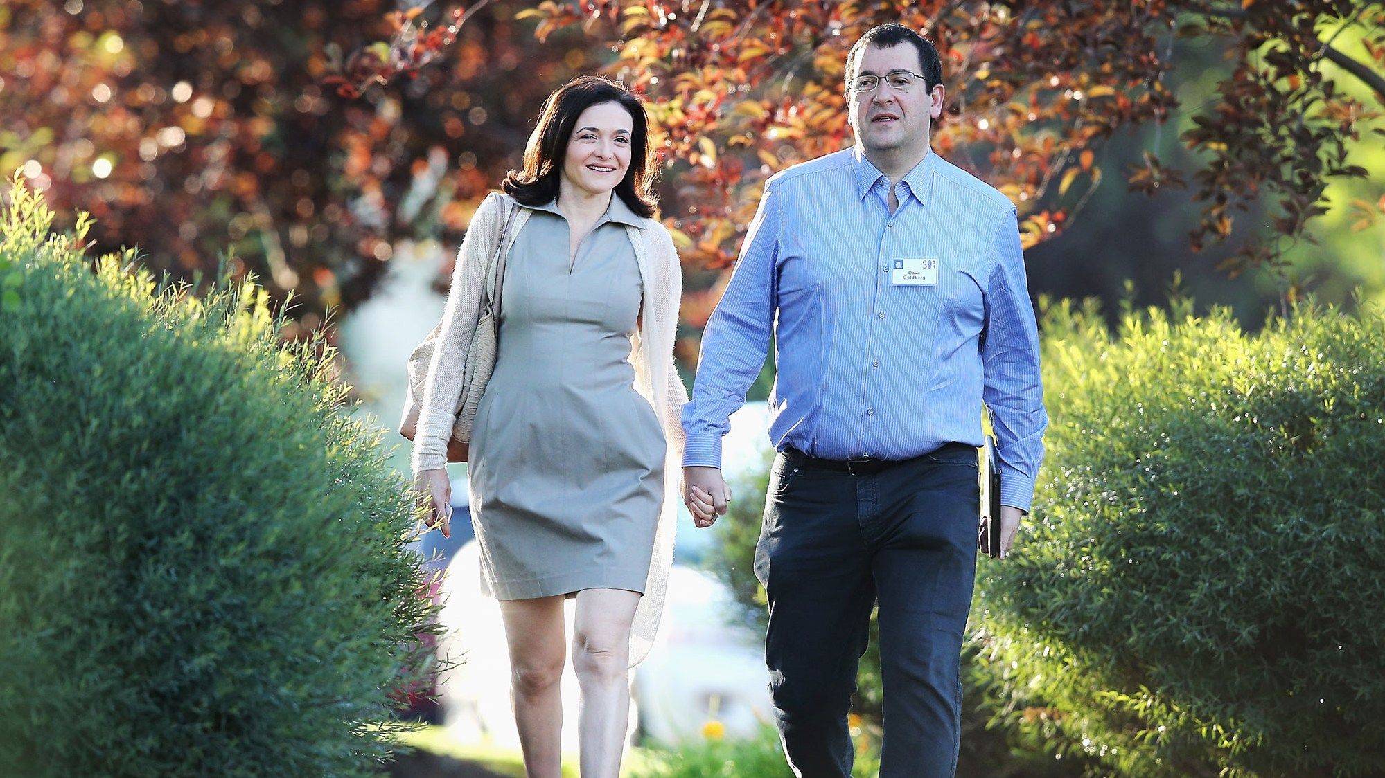 Sheryl Sandberg David Goldberg