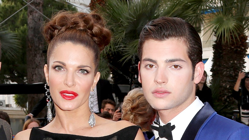 Stephanie Seymour and Peter Brant Jr attend 'The Homesman' Gala film premiere, 67th Cannes Film Festival, France in 2014.