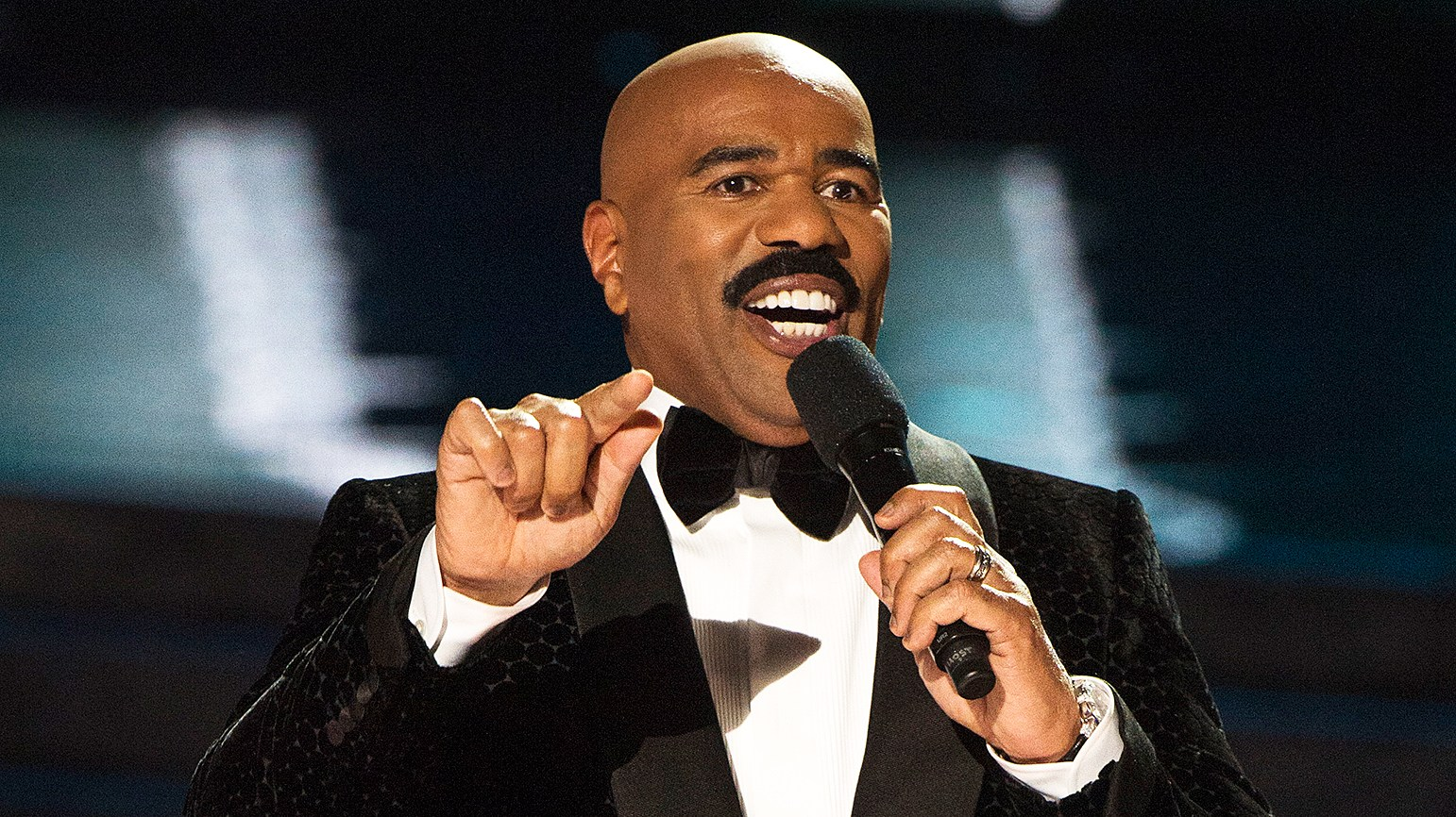 Steve Harvey hosted Miss Universe 2015