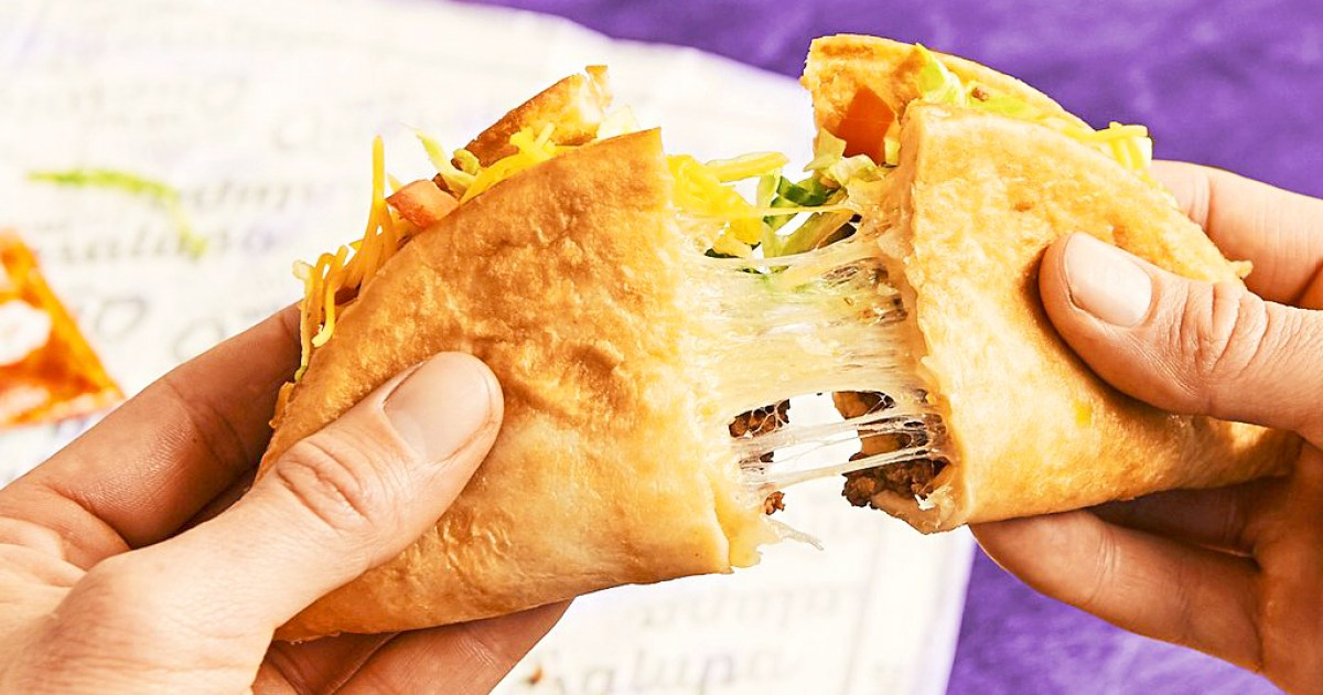 Taco Bell S Quesalupa What Exactly Is It