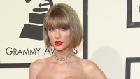 Taylor Swift attends The 58th GRAMMY Awards