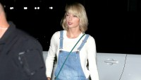 Taylor Swift goes shopping at a Clothes Outlet store, late at night in Gold Coast.