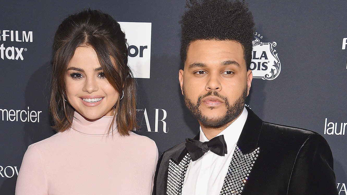 Selena Gomez, The Weeknd, Red Carpet, Harpers Bazaar