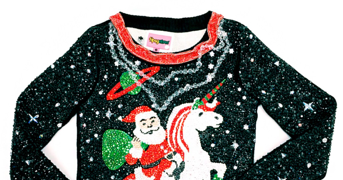 See The World S Most Expensive Ugly Christmas Sweater Pic