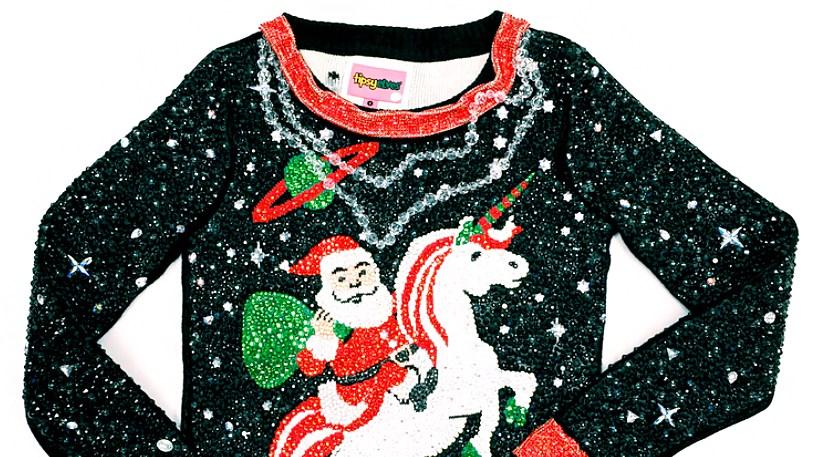 Tipsy Elves and Swarovski Ugly Christmas Sweater