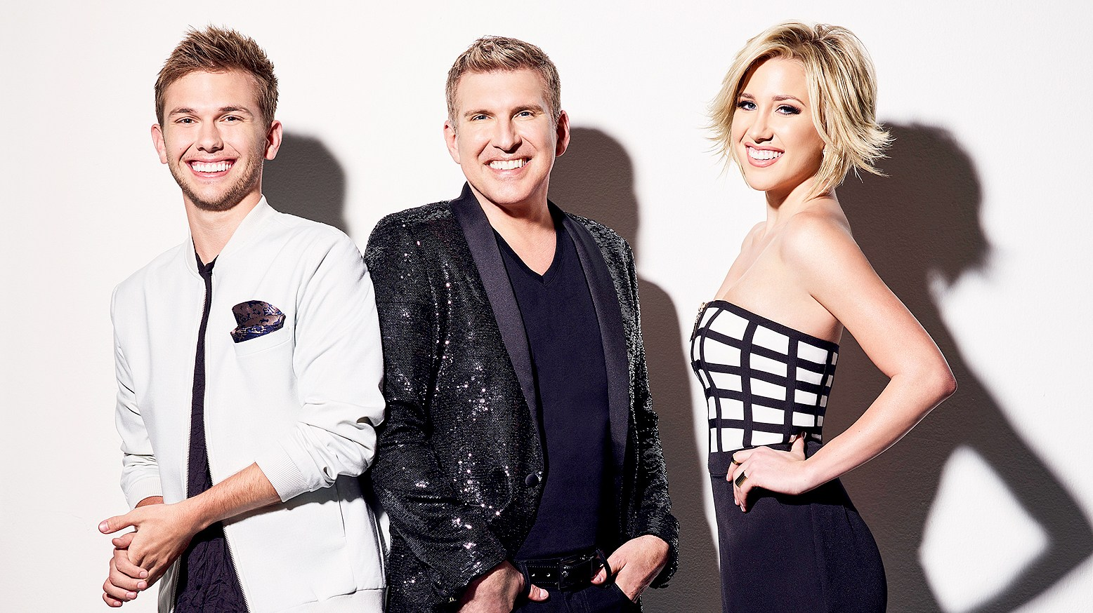 Chase Chrisley, Todd Chrisley, and Savannah Chrisley