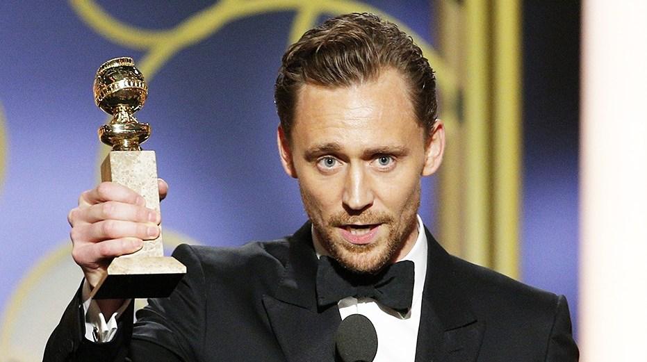 Tom Hiddleston Golden Globes