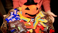 Candy for trick-or-treaters.