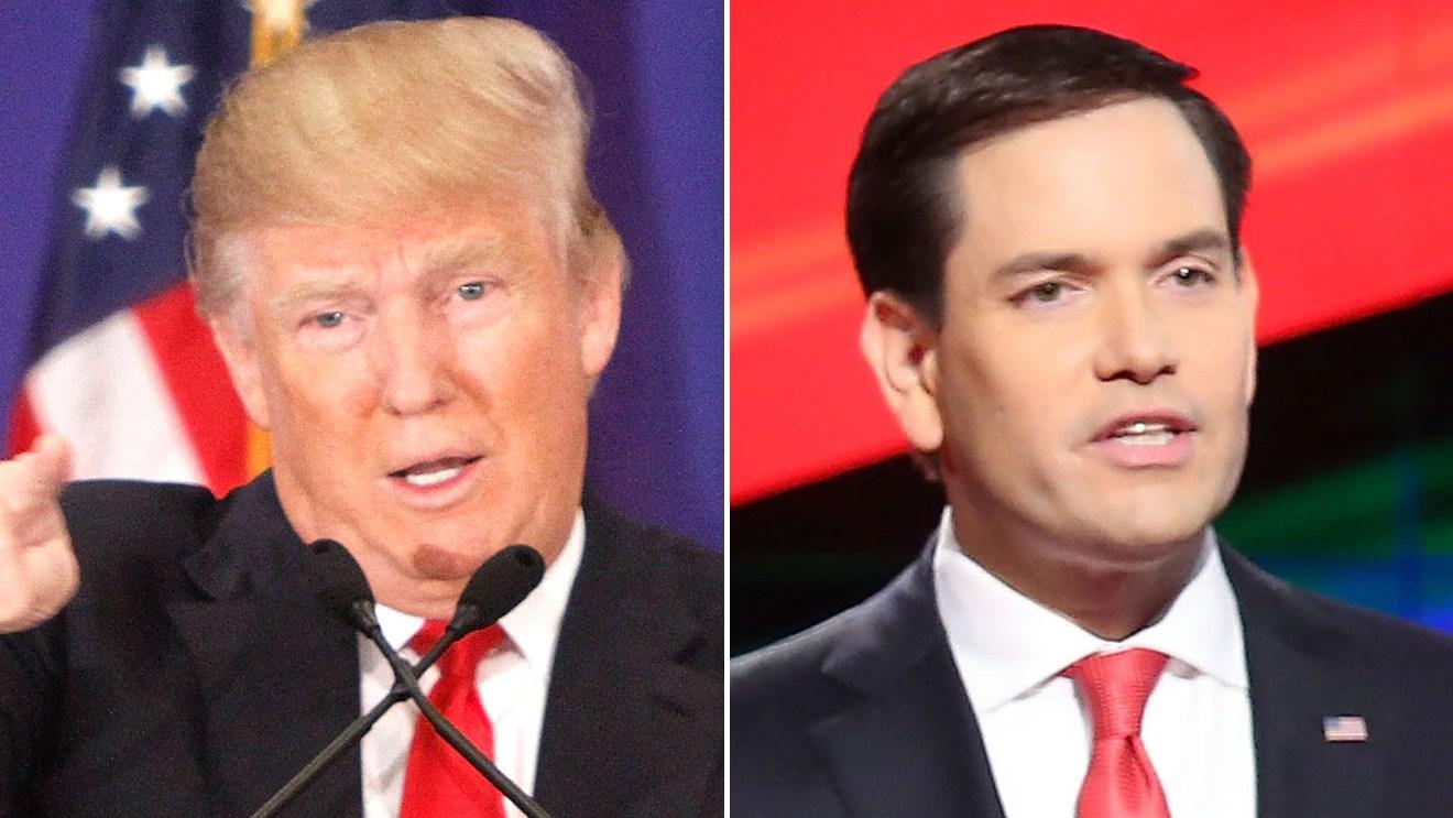Donald Trump & Marco Rubio