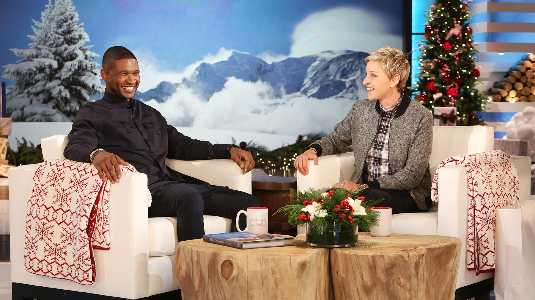 Usher on The Ellen DeGeneres Show
