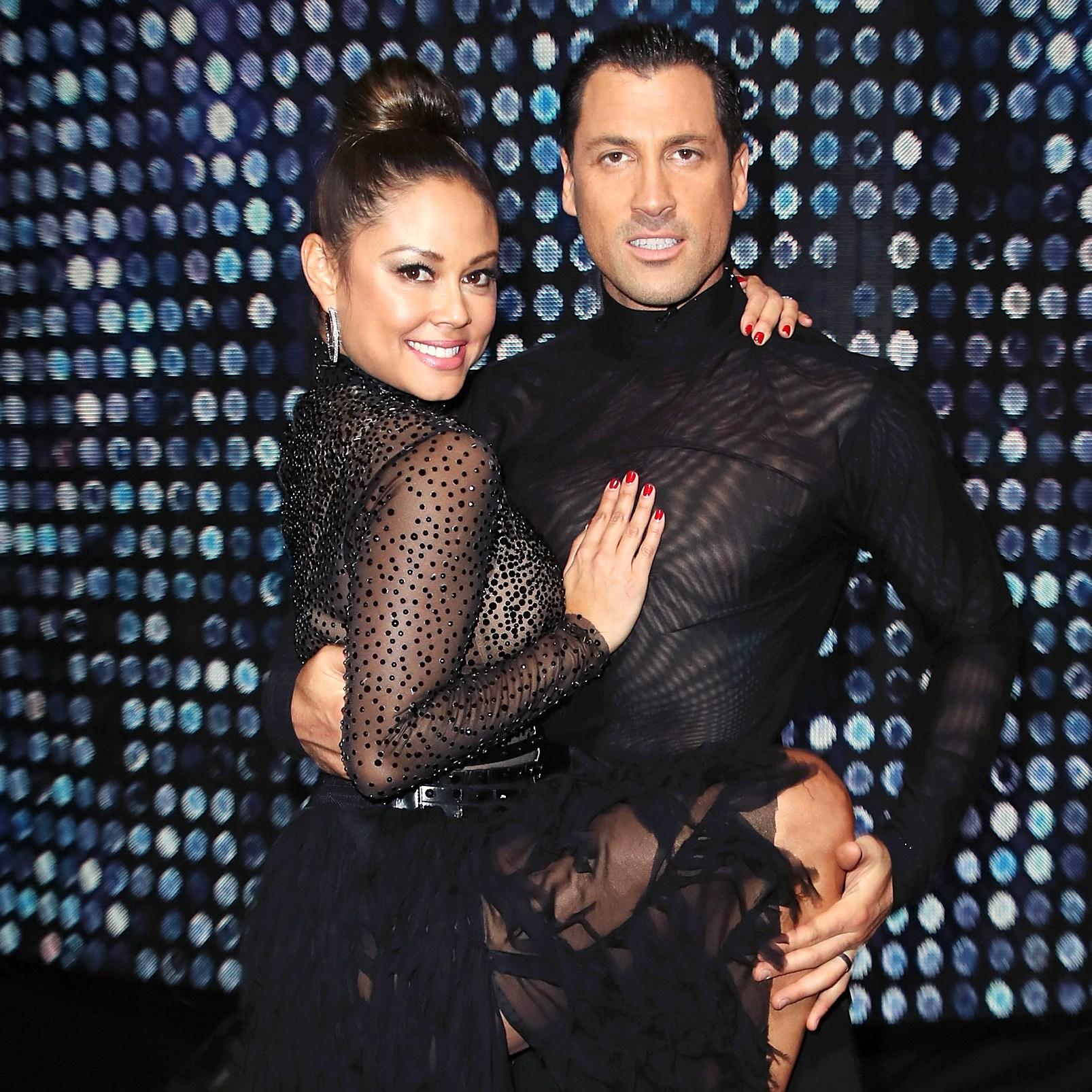 Vanessa Lachey Maksim Chmerkovskiy Dancing With The Stars DWTS