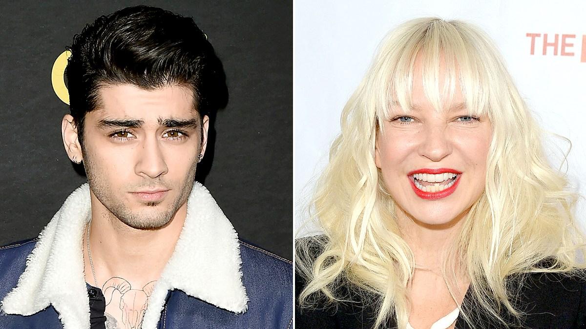 Zayn Malik and Sia