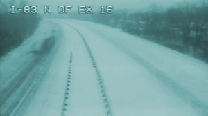 Traffic cam picture capture from Interstate I-83 North of Exit 16, Timonium, Maryland 21093