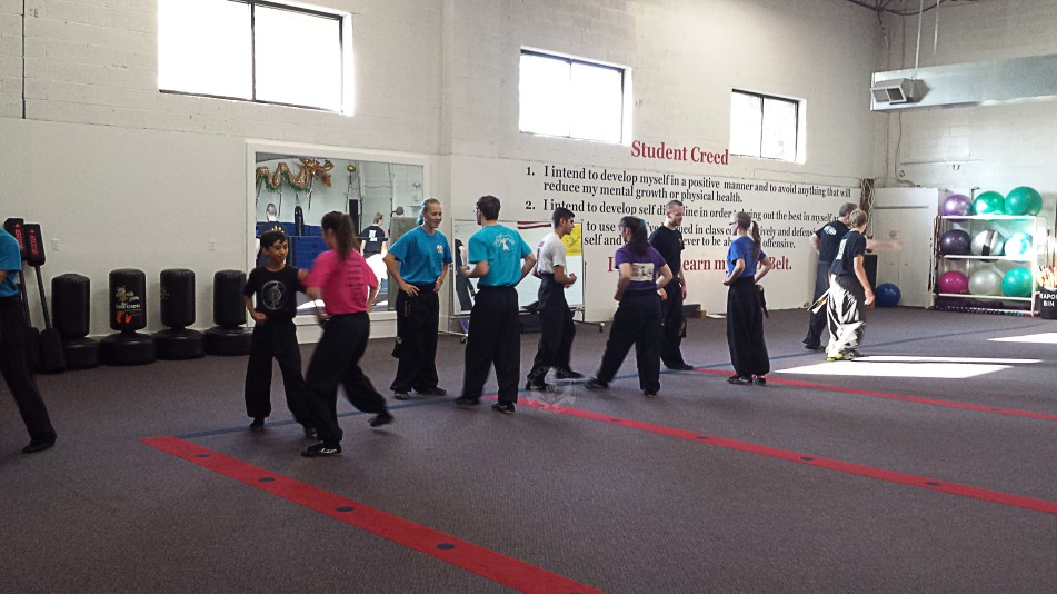 San Da practice in the Black Sash Class at US Martial Arts Academy, Ltd in Timonium, Maryland 21093 www.usmaltd.com, 410-561-9882. ©2015 Maricar Jakubowski All rights reserved. No usage allowed in any form without the written consent of the photographer.