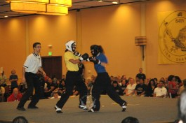 Lei Tai competition at the 2011 U.S. International Kuo Shu Championship Tournament in Hunt Valley, Maryland
