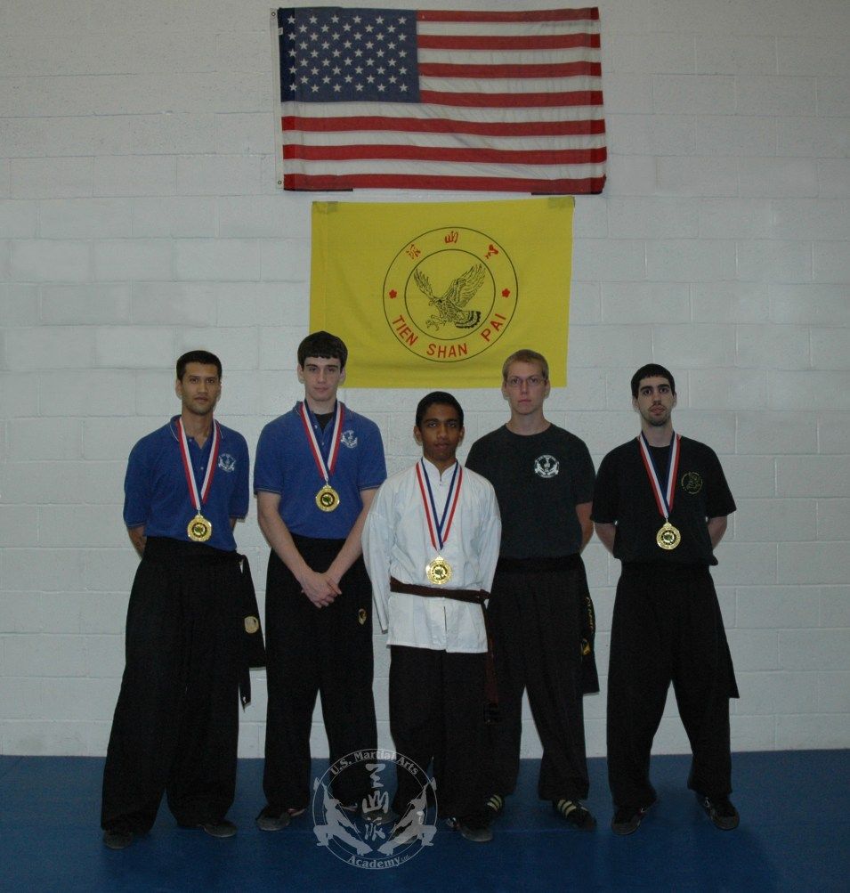 US Martial Arts Academy, Ltd. students and medal winners at the US International Kuo Shu Championship Tournament