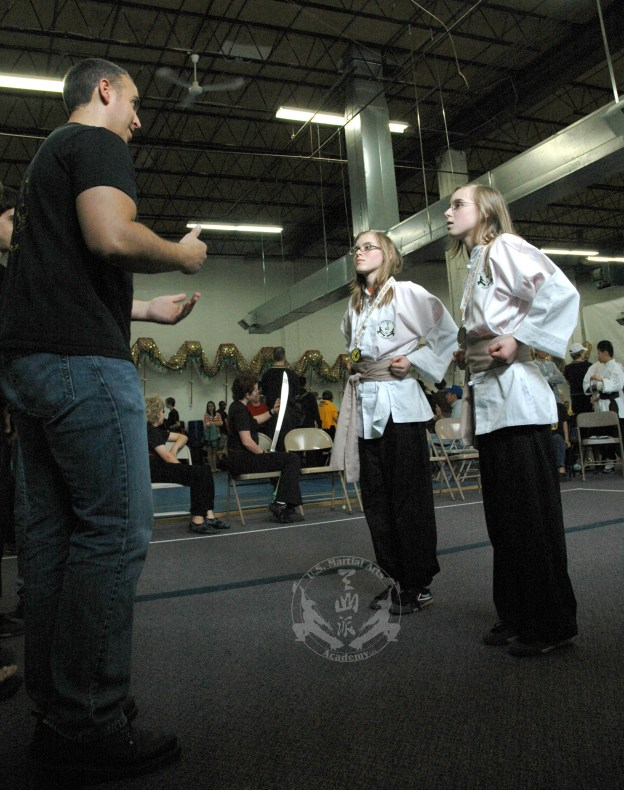 U.S. Martial Arts Academy, Ltd. medal winners at 2012 April 21 Grandmaster Huang