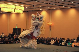 Lion Dance at the 2012 U.S. International Kuo Shu Championship Tournament in Hunt Valley, Md.