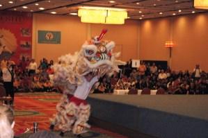 Lion Dance at the 2012 U.S. International Kuo Shu Championship Tournament