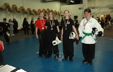 US Martial Arts Academy, Ltd. medal winners at the March 2013 In-house Tournament at U.S. Martial Arts Academy, Ltd. Timonium, Maryland