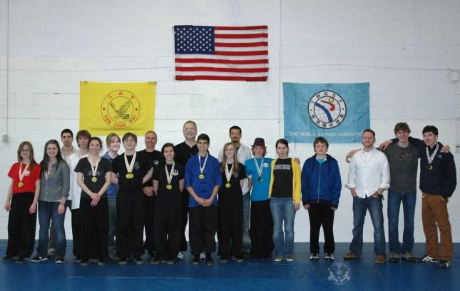 2013 Tien Shan Pai Legacy Tournament -US Martial Arts Academy, Ltd Students and instructors