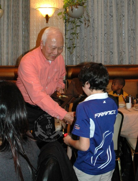 2012 Jan 29 Chinese New Year luncheon at Szechuan House, Lutherville, Maryland 21093 -- students and staff from U.S. KuoShu Academy, Owings Mills, Maryland, U.S. Martial Arts Gaithersburg, U.S. Martial Arts Academy, Ltd, Timonium, Freedom Martial Arts, Bel Air