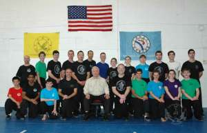 Kung Fu Seminars taught by Grandmaster Huang Chien-Liang at US Martial Arts Academy,Ltd. in Timonium, Maryland. These were most of the participants.