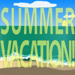 Summer Vacation clip art ©2016 Maricar Jakubowski All rights reserved. No usage allowed in any form without the written consent of the creator.