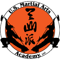logo for US Martial Arts Academy, Ltd, TImonium, Maryland, 21093, 410-561-9882