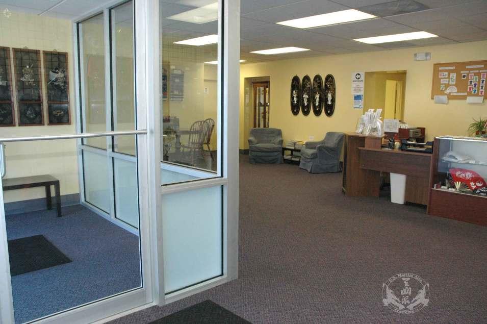 U.S. Martial Arts Academy, Ltd. lobby -- Kung Fu, Self-Defense, and Tai Chi classes in Timonium, Maryland 21093