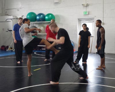 Self-Defense San Shou Fight Training Class at US Martial Arts Academy, Ltd in Timonium, Maryland, www.usmaltd.com, 410-561-9882. ©2017 Maricar Jakubowski All rights reserved. No usage allowed in any form without the written consent of the photographer.