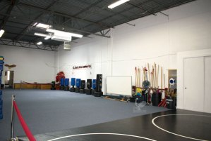 Main classroom for Kung Fu and Tai Chi students at US Martial Arts Academy, Ltd in Cockeysville, Maryland21030 410-561-9882.