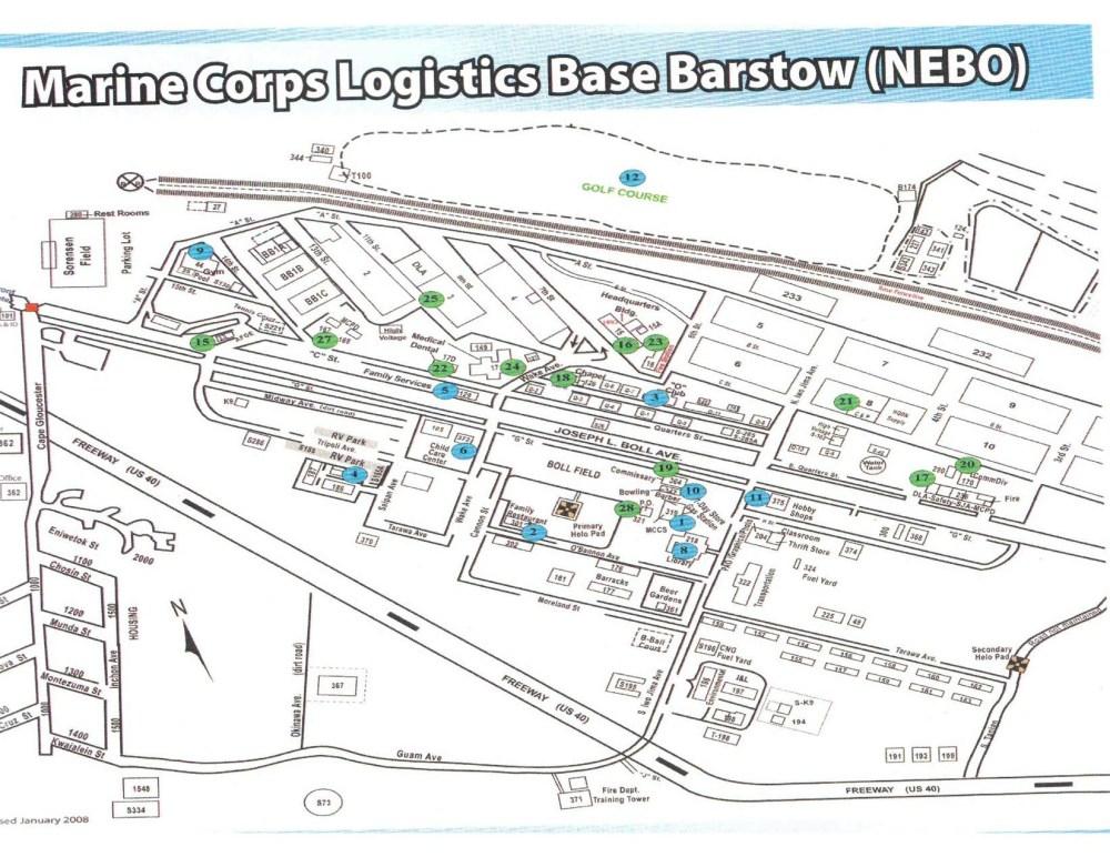 medium resolution of barstow base map usmc