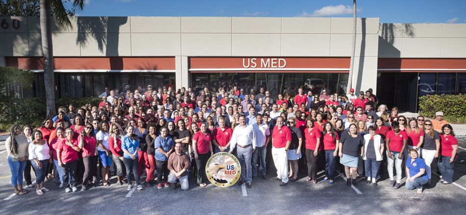 US Med Company Wide Photo