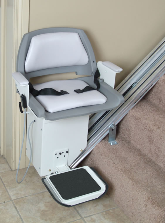 Stair Lifts  AmeriGlide DC Stair Lift