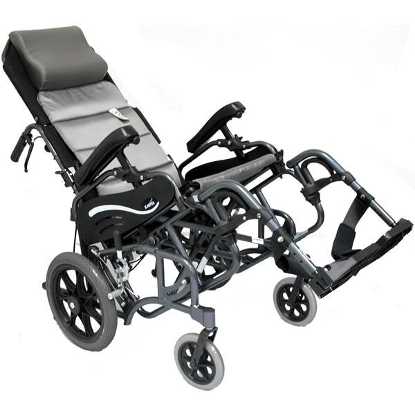 Karman TiltInSpace Folding Transport Chair  Transport
