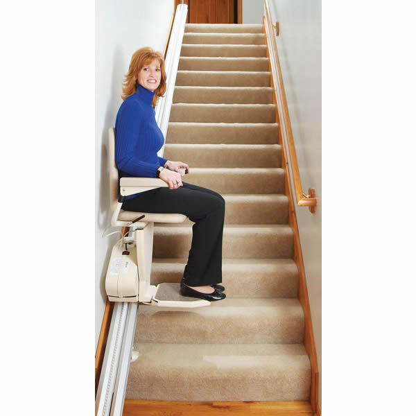 reclining chairs for elderly office depot chair pinnacle stair lift from harmar mobility